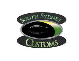 tedatkinson123 tarafından Logo Design for South Sydney Customs (custom auto spray painter) için no 1