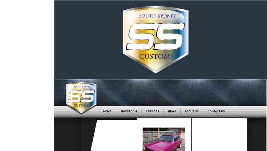 Proposition n°                                        17                                      du concours                                         Logo Design for South Sydney Customs (custom auto spray painter)
