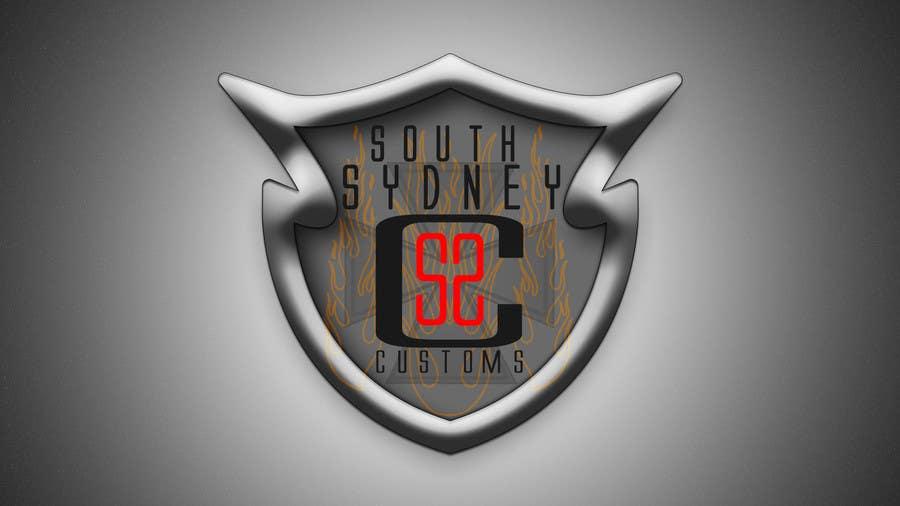 Inscrição nº 16 do Concurso para Logo Design for South Sydney Customs (custom auto spray painter)