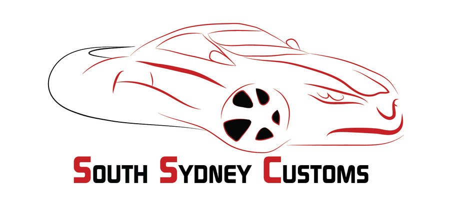 Proposition n°                                        26                                      du concours                                         Logo Design for South Sydney Customs (custom auto spray painter)