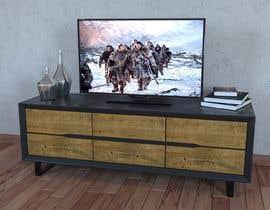 fuadasha21 tarafından Cabinet TV 3D model - LOFT FURNITURE Steel and natural OAK için no 165