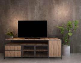 budibrow23 tarafından Cabinet TV 3D model - LOFT FURNITURE Steel and natural OAK için no 134