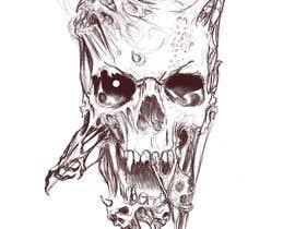 #60 для Illustrate a Skull - 27/06/2020 13:30 EDT от DorianLudewig