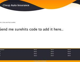 #5 for HTML Coding  - Needed For Auto Insurance Leads Site by Bondok