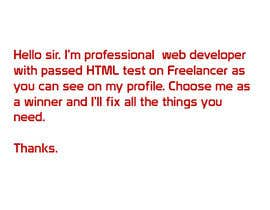 #1 untuk HTML Coding  - Needed For Auto Insurance Leads Site oleh HarisDevel
