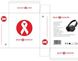 #6 для Beat Cancer - Headphones Box Design от juancarlosvlez