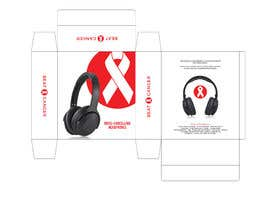#8 для Beat Cancer - Headphones Box Design от eling88