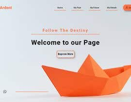 #9 cho Build the Welcome page for website | Opportunity to get contract to build full website bởi saikatsam346