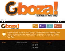 #71 para Logo Design for Gboza! por rogeliobello