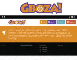 #69 para Logo Design for Gboza! por stanbaker