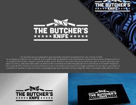 Nro 1225 kilpailuun The Butcher's Knife - Full Branding käyttäjältä eddesignswork
