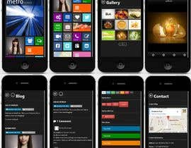 #9 cho Build a personal mobile responsive super creative website bởi ShareefFayed