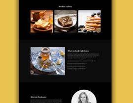 #59 cho Design a webpage for honey product bởi amirkust2005