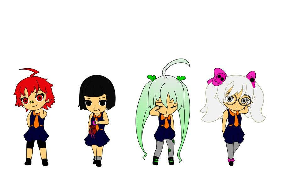 Penyertaan Peraduan #                                        54                                      untuk                                         We need the best\cutest\funnest Chibi character art for a children's cartoon based on mythological characters in modern day.