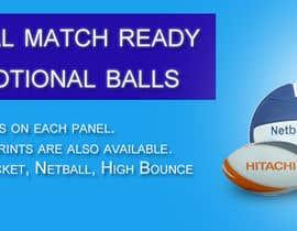 Nro 21 kilpailuun Sports Balls Banner käyttäjältä gssakholia11