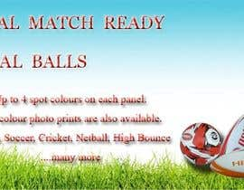 #10 for Sports Balls Banner by tanzeelhussain