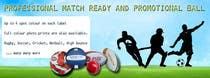 Bài tham dự #15 về Graphic Design cho cuộc thi Sports Balls Banner