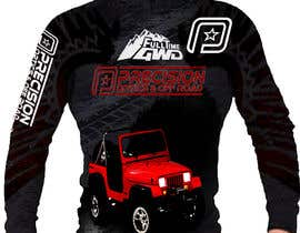 Nro 7 kilpailuun Design Sublimation Shirt käyttäjältä OBAIDASOUSOU