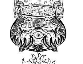 #10 pёr Boiling cauldron illustration. nga Er2dimensiones