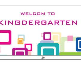 #4 for Design a Banner for Kindergarten by AkoManok