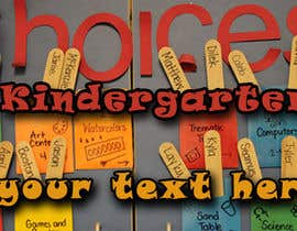 #7 for Design a Banner for Kindergarten by sanjaya1110