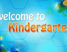 #5 for Design a Banner for Kindergarten by amitjangid0808