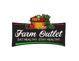 """nº 157 pour Contest - Logo for retail store """"Farm Outlet"""" par cyberlenstudio"""