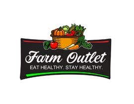 "cyberlenstudio tarafından Contest - Logo for retail store ""Farm Outlet"" için no 157"