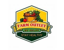 "cyberlenstudio tarafından Contest - Logo for retail store ""Farm Outlet"" için no 165"