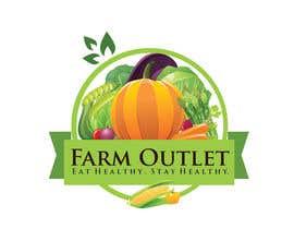 """#179 para Contest - Logo for retail store """"Farm Outlet"""" de GraphicEra99"""