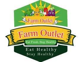 "#175 para Contest - Logo for retail store ""Farm Outlet"" de AmzaliAbdelali"