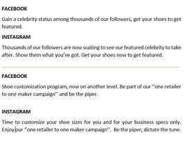 #7 für Create social media captions from newsletter copy von falax2016b