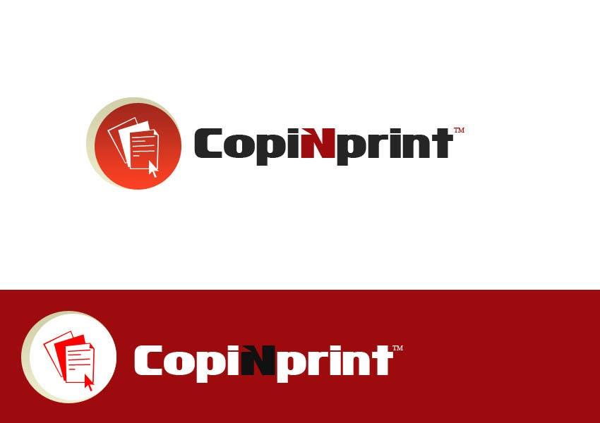 Konkurrenceindlæg #                                        128                                      for                                         Logo Design for CopiNprint