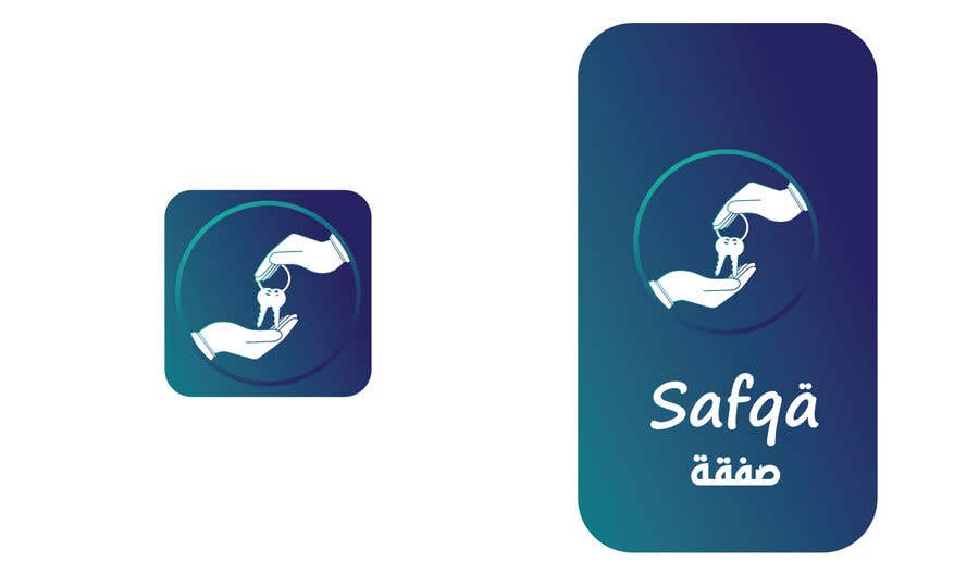 Bài tham dự cuộc thi #                                        55                                      cho                                         ARABIC APP ICON AND SPLASH PAGE DESIGN iOS and Android