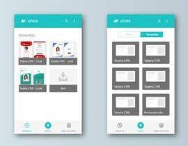 Nro 7 kilpailuun Diseño/Maquetación de App para diseño de credenciales käyttäjältä CinthyCarol