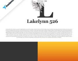 """#2 for My apparel company is called Lakelynn 526.  I want to combine detailed angel wings with the letter """"L"""". Similar to the images attached. This design needs to detailed be ready to have patches made of this image to be sewn on my apparel. af JunrayFreelancer"""