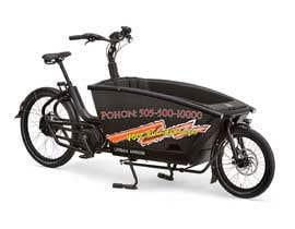 Nro 2 kilpailuun Design advertising for stickers on side of Urban Arrow bike käyttäjältä samara2002