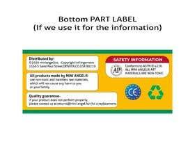 Nro 93 kilpailuun Design a set of packaging labels käyttäjältä M0h6MED