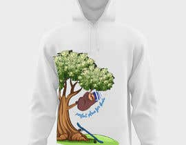 #34 cho Design for a T-Shirt/Hoodie (sleeping sloth in a money tree) bởi aish915