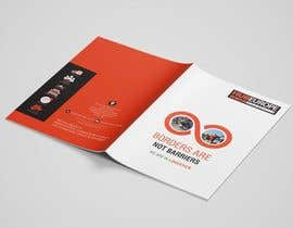 #16 untuk Design an Advertising leaflet to promote our Courier Services oleh designingamit