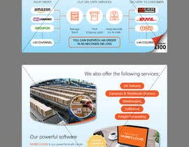 #29 for Design an Advertising leaflet to promote our Courier Services af enshano