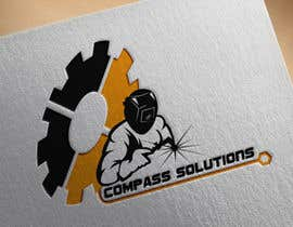 Nro 183 kilpailuun I need a logo designed for my company. The name of the company is (Compass Solutions). We are a construction,fabrication, equipment, and energy company.  I would like the logo to have a mechanical/industrial feel to it. käyttäjältä rakib0w1