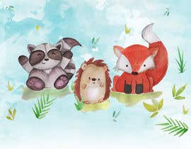 #62 for Digital or hand drawn original art required of baby animals/woodland animals etc - artwork will be children's focused. Experience producing graphics for children's artwork project is a bonus! by luisathomas
