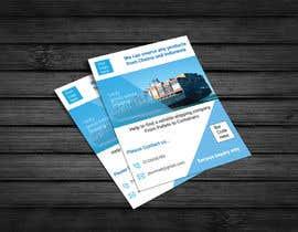 logoartbee3 tarafından create a flyer for logistic services için no 17