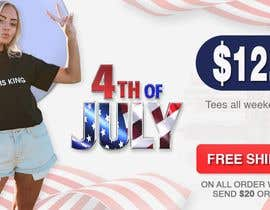 #9 for Create 4th of July banner for website by naymulhasan670