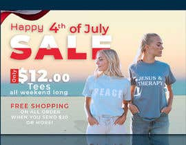 #18 for Create 4th of July banner for website by mdjahirul80