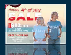 #20 for Create 4th of July banner for website by mdjahirul80