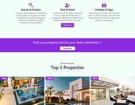 Nro 24 kilpailuun New design for home page (no back-end code change) käyttäjältä habibfoysal
