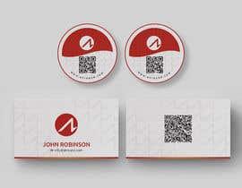 Nro 370 kilpailuun Design for a sticker and a business card käyttäjältä cmchoton