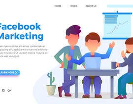 #27 for Landing Page and facebook/ instagram marketing by Nahidemdad